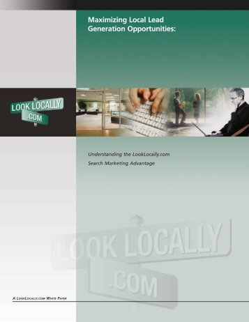 Maximizing Local Lead Generation Opportunities - White Paper ...