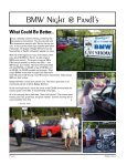 August/ September 2009 - Badger Bimmers - Page 6