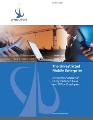 The Unrestricted Mobile Enterprise - White Paper Company