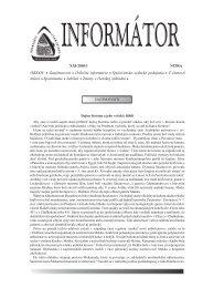 Informátor SAS XXI/2010/1 - Slovenská archeologická spoločnosť