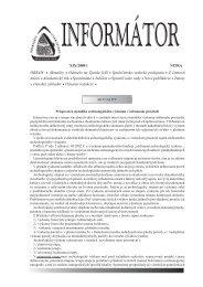 Informátor SAS XIX/2008/1 - Slovenská archeologická spoločnosť
