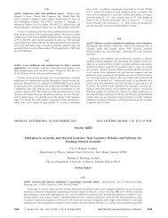 J. Acoust. Soc. Am., 114(4) Pt. 2, 2308 (2003) - Graduate Program in ...
