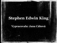 Stephen Edwin King - projekt21.cz
