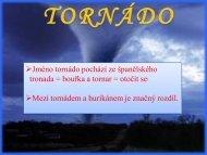 Tornádo - projekt21.cz
