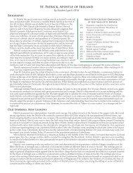 St. Patrick, Apostle of Ireland - Holy Name Province