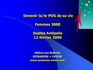 « Les pratiques de prospectives à l'étranger » juin 2005