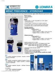 Prospekt Hydrovar (PDF 454 kB) - LK Pumpservice