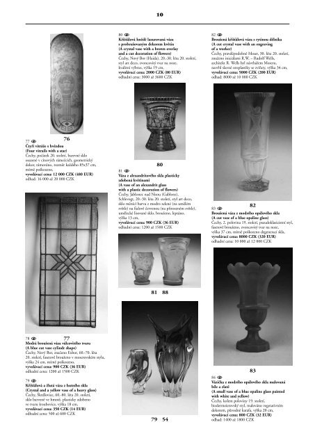 Umění a starožitnosti / Art and antiques - Valentinum