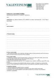 smlouva o provedeni drazby_Valentinum_2011-1