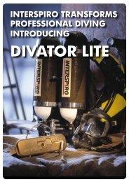 divator lite cylinders - Interspiro