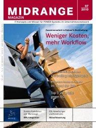 Weniger Kosten, mehr Workflow - Midrange Magazin