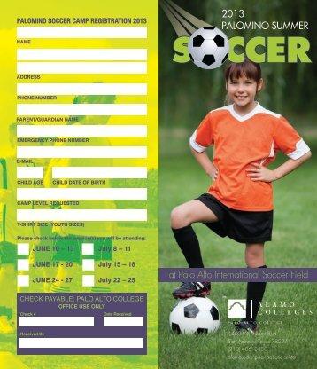 Soccer Brochure - Alamo Colleges