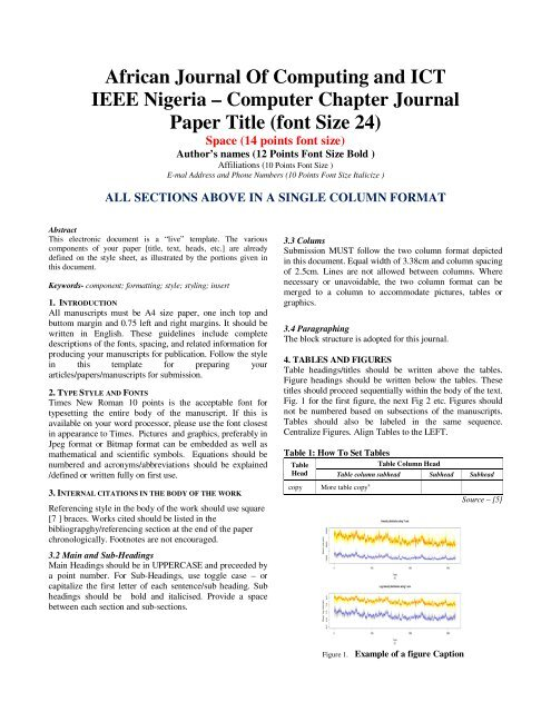 to Download (PDF) Paper Submission Template - IEEE Afr J Comp ...