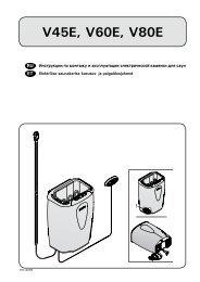 Инструкция по эксплуатации Harvia Moderna