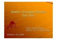 Stadion Giuseppe Meazza (San Siro) - Student Info
