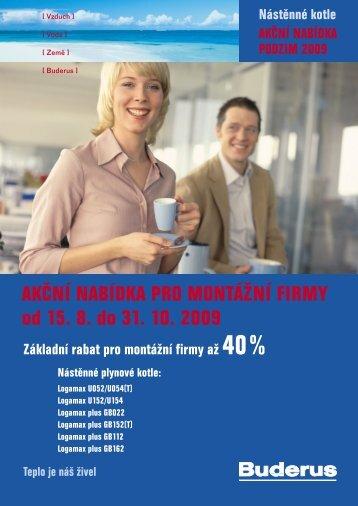 AKČNÍ NABÍDKA PRO MONTÁŽNÍ FIRMY od 15. 8. do 31 ... - Bernold