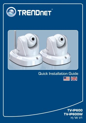 Quick Installation Guide - TRENDnet