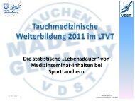 pdf-Präsentation - statistische Lebensdauer von ... - LTVT
