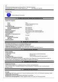 Sicherheitsdatenblatt gemäß Verordnung (EG) Nr. 1907 ... - E-Mayr - Page 3