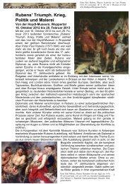 Rubens' Triumph. Krieg, Politik und Malerei