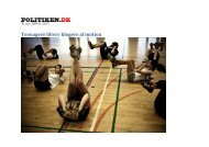 Teenagere og motion - Jan Thiemann
