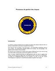 Processus de gestion des risques 1,0