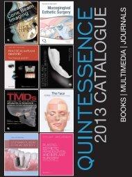 BOOKS | MULTIMEDIA | JOURNALS - Quintessence International