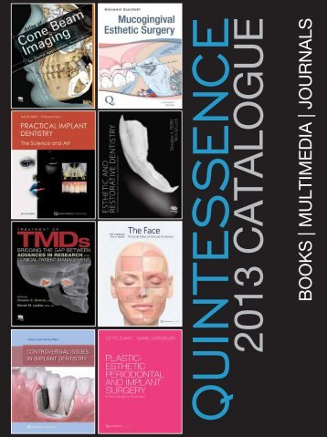 BOOKS | MULTIMEDIA | JOURNALS - Quintessence International
