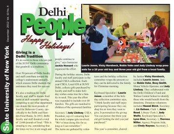December 2012 - SUNY Delhi