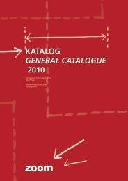 Katalog General cataloGue 2010 - Tida