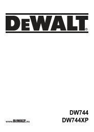 N055904 man table saw DW744 Euro.indd - Service - DeWALT