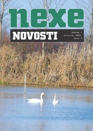 GODINA I prosinac 2003. Broj 2 - Nexe Grupa