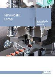 Predstavitvena brošura Hidria Tehnološki center (PDF - 1,91 MB)
