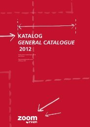 Katalog General cataloGue 2012 - Tapro Trgovina