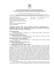 """""""Vilniaus baldai"""" gamybos NR. 1 medinės pakuotės bei medienios"""