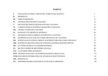 VRAAD 2008 metų veiklos ataskaita - Vilniaus regiono aplinkos ...