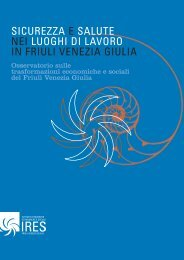 sicurezza e salute nei luoghi di lavoro in friuli venezia giulia - Cgil Fvg