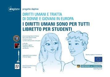 progetto daphne DIRITTI UMANI E TRATTA DI DONNE E GIOVANI ...