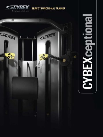 Cybex Bravo Functional Trainer.pdf - Used Fitness Equipment