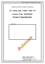 Product Specification - Glyn