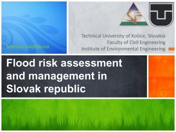 Flood risk assessment and management in Slovak republic