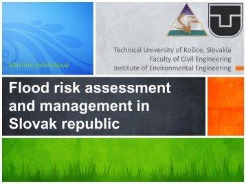 Flood risk assessment and management in Slovak republic