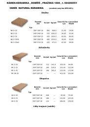 uvedené ceny bez DPH 20% - Kámen-Keramika