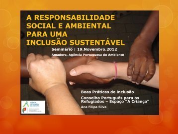 CPR - Ana Filipa Silva - Agência Portuguesa do Ambiente