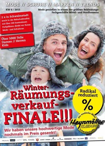 Winter-Räumungsverkauf - Das Finale!