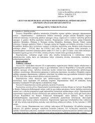 Klaipėdos RAAD 2009 metų veiklos planas - Klaipėdos regiono ...
