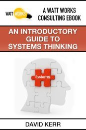 An Introductory Guide to Systems Thinking - Watt Works