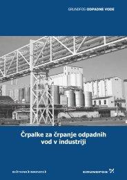 Črpalke za črpanje odpadnih vod v industriji - Ika