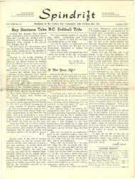 spindrift aug 1955 - Cordova Bay Association for Community Affairs