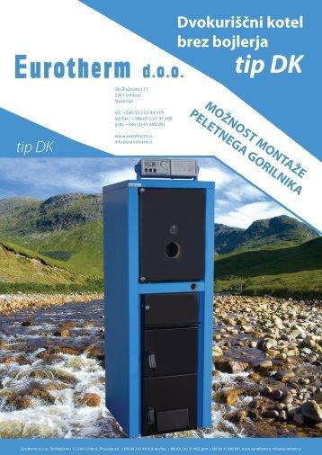 kotel Eurotherm DK - dvokuriščni